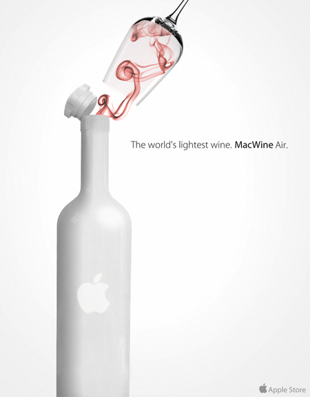 Apple air wine