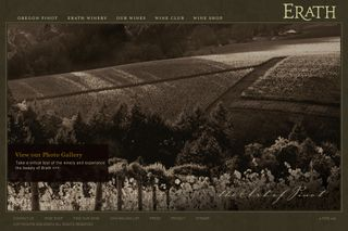 Erath Winery home page