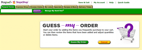 Guess-my-order
